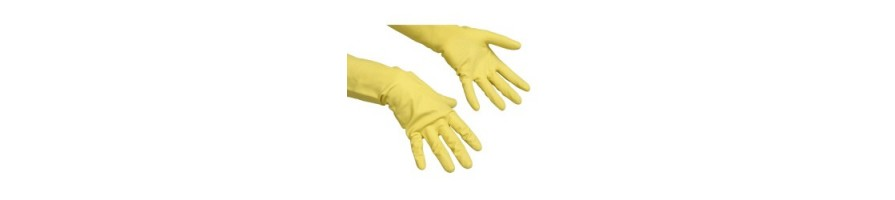 Rękawice ochronne, gospodarcze do sprzątania, chemii domowej - sklep online